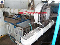 Gia nhiệt từ máy kéo chỉ máy đùn nhựa
