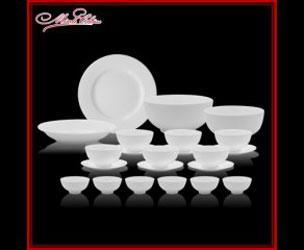 Bộ bàn ăn trắng
