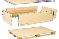 Thùng gỗ lắp ghép