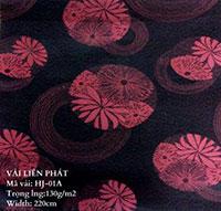 Các mẫu hoa văn gấm dệt thoi