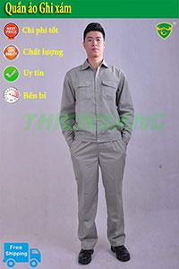 Quần áo ghi xám