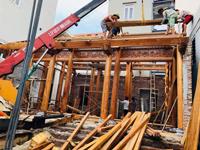 Thi công nhà gỗ truyền thống