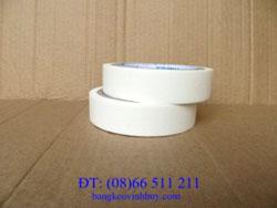 Băng keo giấy màu trắng