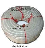 Ống lưới dẻo PVC trắng