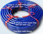 Ống lưới dẻo PVC xanh dương