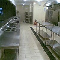 Bàn bếp inox nhà hàng
