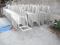 Khung nhôm bàn ghế