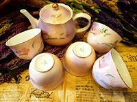 Bộ ấm trà gốm sứ Nhật