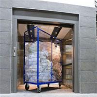 Thang máy tải rác