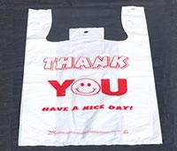 Túi xốp có quai và in ( T-shirt )