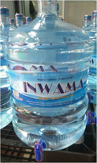 Nước đóng bình Inwama 19l