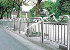 Hàng rào inox