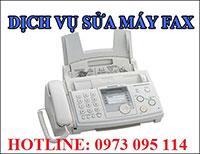 Dịch vụ sửa chữa máy fax