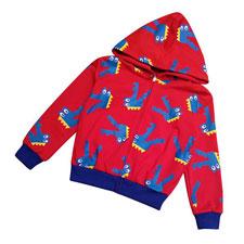 Áo hoodie khủng long bé trai
