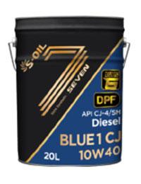 Dầu động cơ S-OIL 7 Blue CJ 10W40