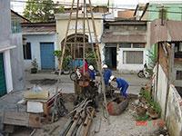 Khoan địa chất công trình nhà chung cư