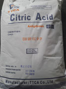 Citric Anhydrous - TTCA - China