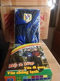 Bộ áo mưa Vinh Ngà