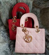 Túi Dior nắp