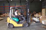 Bốc xếp hàng hóa bằng xe nâng xe cẩu