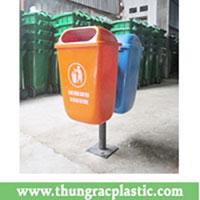 Thùng rác composite 55L treo