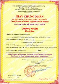 Xin cấp giấy chứng nhận