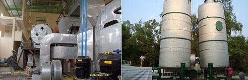 Hệ thống lọc khí thải lò hơi