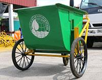 Sản xuất xe gom rác