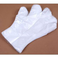 Găng tay nilon PE trắng