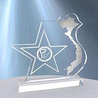 Biểu trưng pha lê