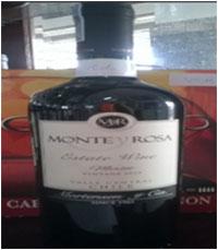 Vang Chile Monte Y Rosa Merlot