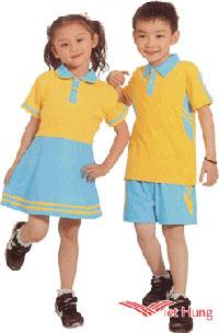 Đồng phục học sinh mầm non