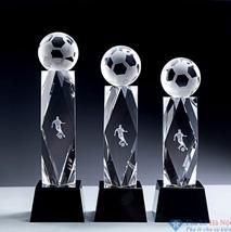 Bộ cúp pha lê thể thao bóng đá