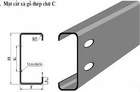 Thép hình chữ C