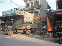 Phá dỡ nhà cửa công trình