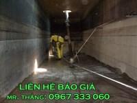 Thau rửa bể ngầm