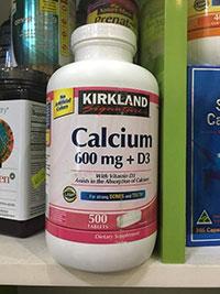 Thuốc bổ sung Canxi Kirkland Calcium