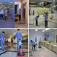 Dịch vụ vệ sinh công nghiệp theo giờ