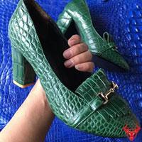 Giày da cá sấu nữ cao cấp