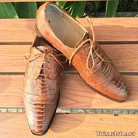 Giày tây da đà điểu nam