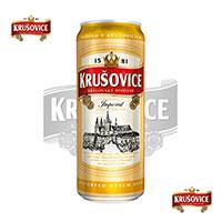 Bia lon Krusovice Imperial