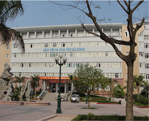Bệnh viện đa khoa mới tỉnh Hải Dương