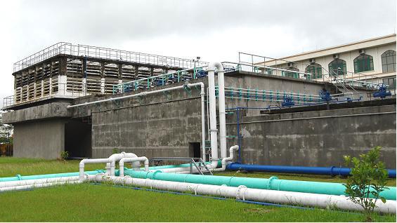 Đường ống nhà máy nước