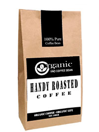 Handy roasted coffee