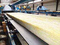 Dây chuyền sản xuất bông thủy tinh