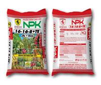 Phân NPK 16-16-8-01