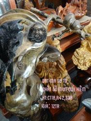 Đạt ma sư tổ gỗ mun