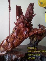 Quan công gỗ cẩm