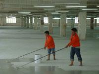 Làm cứng bề mặt bê tông