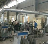 Gia công và lắp đặt hệ thống hút bụi